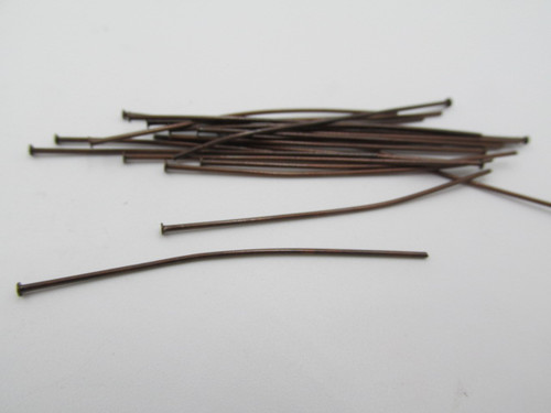 "2"" Antique Copper Plated Head Pins (20 pk.) 4225"