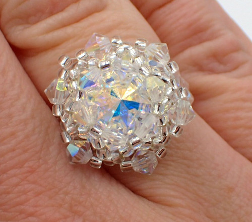 Crystal AB Bling in the New Year Ring Kit