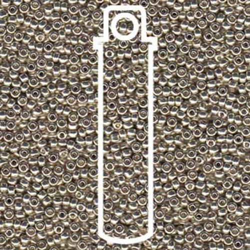 11/0 Duracoat Galvanized Silver Seed Beads Miyuki