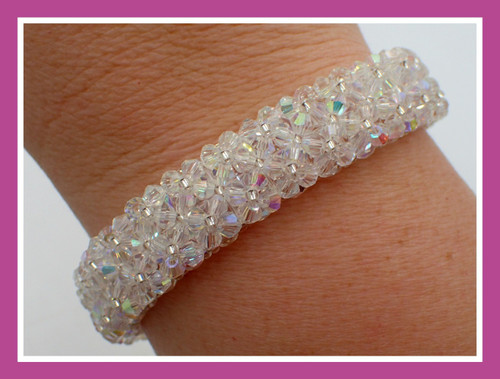 Marilyn Monroe Crystal AB Bracelet Kit