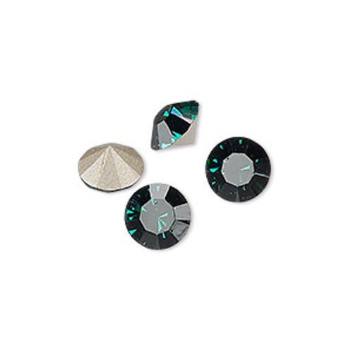 6pk Emerald (SS39) Chatons