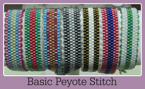 Even Count Peyote Stitch Bracelet Tutorial