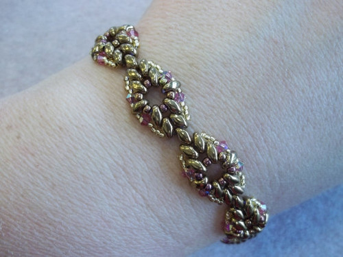 Diamond Duo Bracelet Tutorial