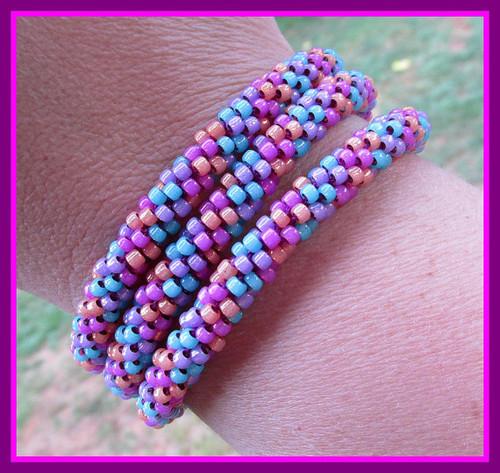 Kumihimo Wrap Bracelet Tutorial