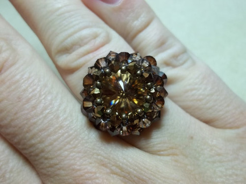 Raging Rivoli Ring Tutorial
