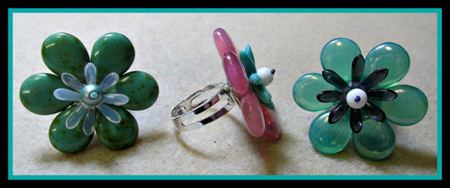 Spring Fling Ring Tutorial