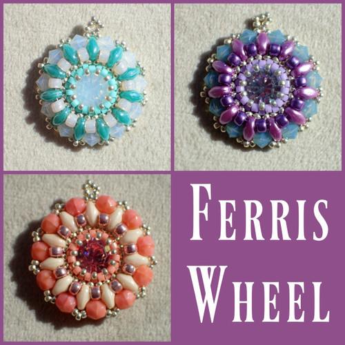 Ferris Wheel Pendant Instant Download Pattern