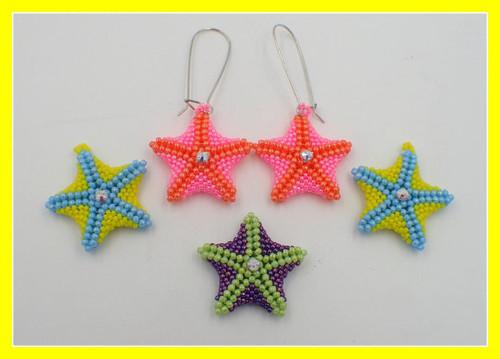 Starfish Earrings Tutorial