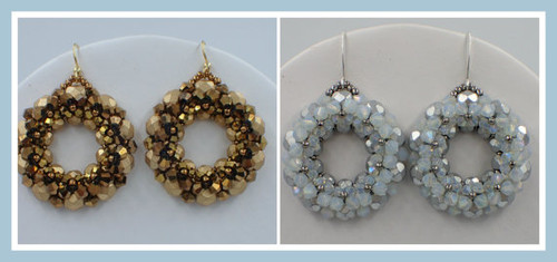 Bling Rings Earrings Tutorial