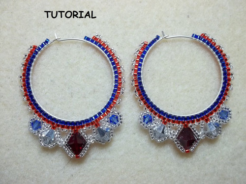 Haute Hoop Earrings Tutorial