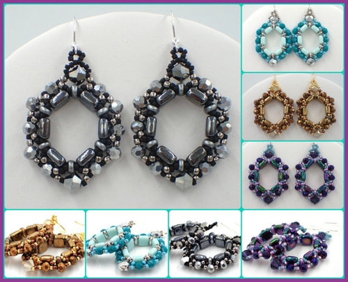 Cobblestone Earrings Tutorial