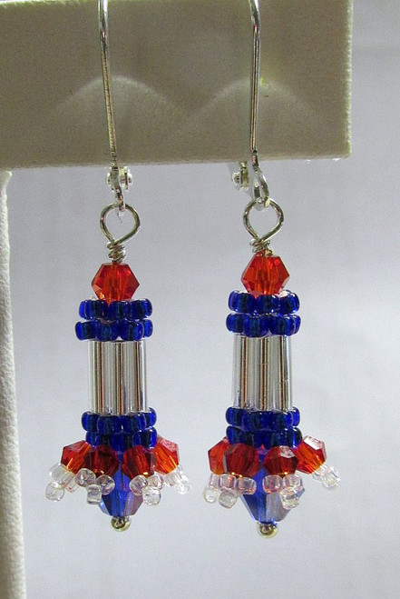 Fire Cracker Earrings Tutorial
