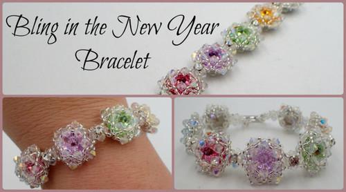 Bling in the New Year Bracelet Tutorial