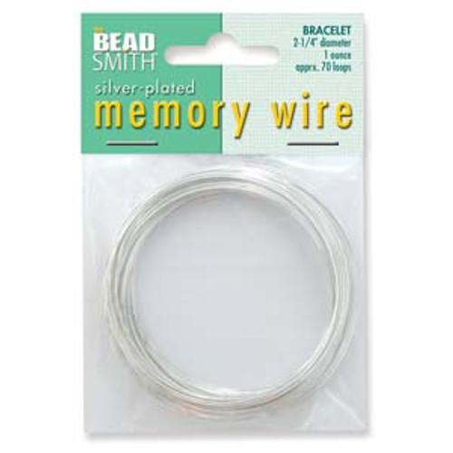 2 1/4 Bracelet Memory Wire 1 Ounce