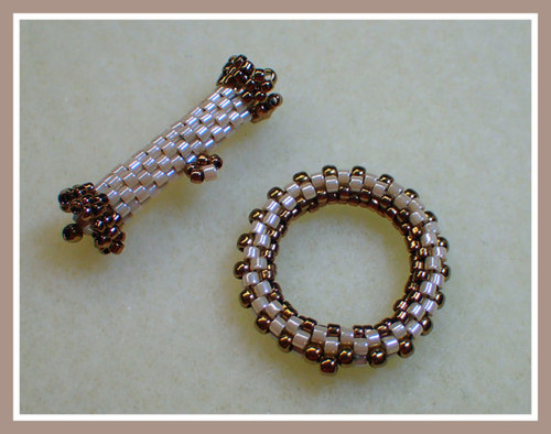 Beaded Peyote Toggle Tutorial