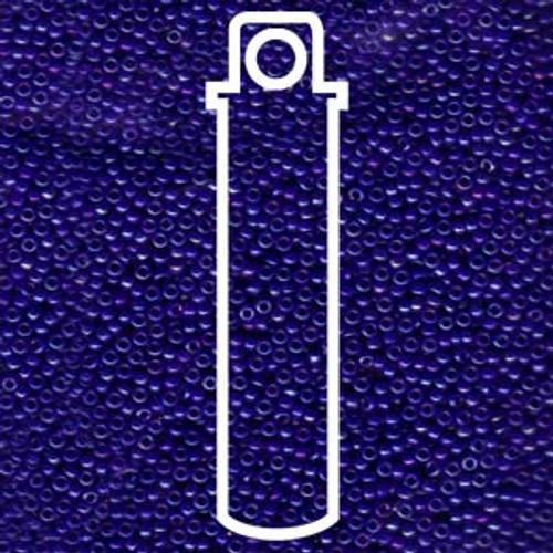 15/0 Opaque Cobalt Luster Miyuki Seed Beads