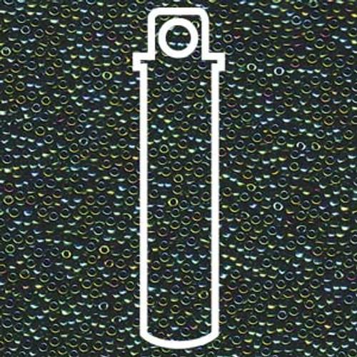 15/0 Metallic Teal Iris Miyuki Seed Beads