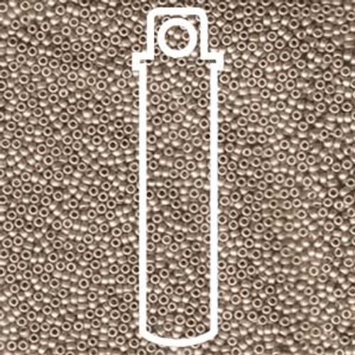 15/0 Matte Dark Cream Miyuki Seed Beads