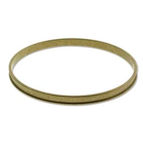 Bracelet Bangle Raw Brass Round 3/16 inch ID-65mm