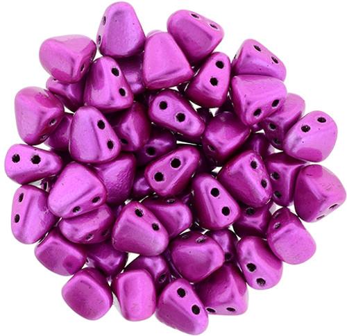 Metalust Hot Pink Nib Bit Beads - 8 Grams