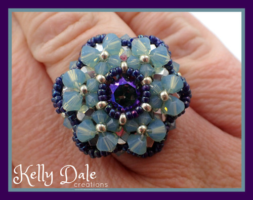 Bloom Ring Pattern - Instant Download