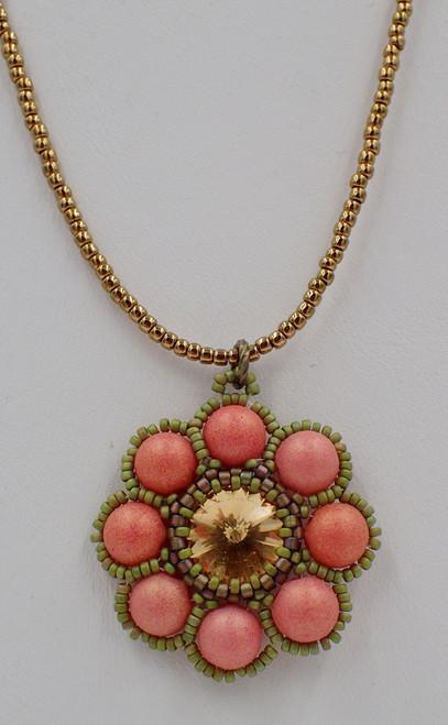 Lollipop Pendant Kit -  Green & Coral Color Scheme