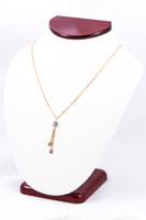 YELLOW GOLD NECKLACE, YG21KNECKLACE014, Size:Large, Weight:0g