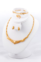 YELLOW GOLD SET, YGSET21K018, Weight:0g