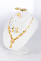 YELLOW GOLD SET, YGSET21K024, Weight:0g