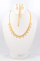 YELLOW GOLD SET, YGSET21K039, Weight:0g