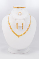 YELLOW GOLD SET, YGSET21K040, Weight:0g