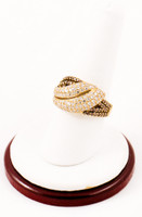 Yellow Gold Ring 18K, YGRING0048, Weight: 0g