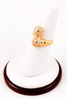 Yellow Gold Ring 21K, YGRING0221, Weight: 0g