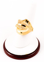 Yellow Gold Ring 21K, YGRING0223, Weight: 0g