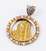 YELLOW GOLD PENDANT, 21KT, Weight: 0g, YGPEND0091