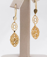YELLOW GOLD EARRINGS, 21KT, Weight: 0g, YGEARRING21K0071