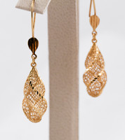 YELLOW GOLD EARRINGS, 21KT, Weight: 0g, YGEARRING21K0075