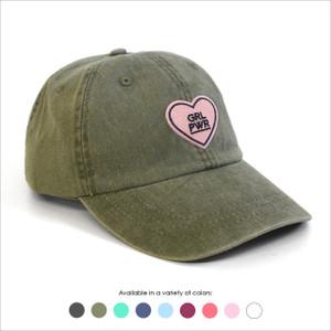 GRL PWR Baseball Hat - Choose your hat color!
