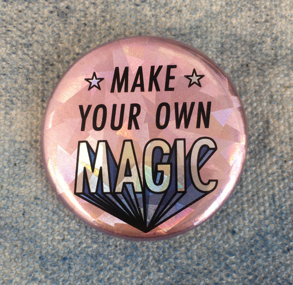 how to make holographic buttons
