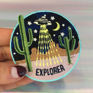 Explorer - Area 51 Desert - UFO Patch