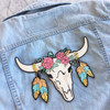 Longhorn Back Patch - Wildflower Co.