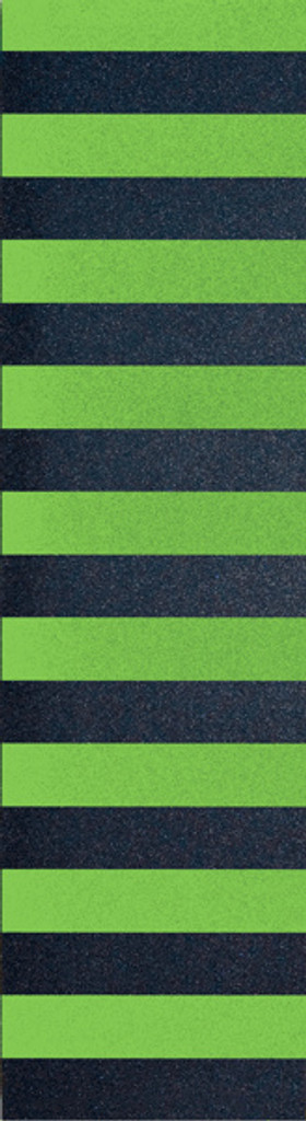 Flik Neon Green Stripe Griptape Sheet