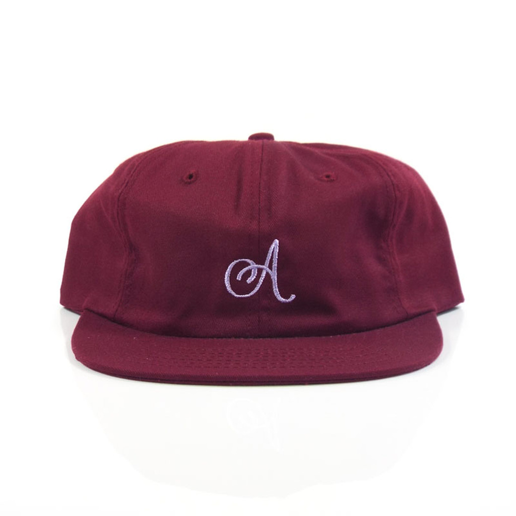 Alltimers Classic A Strap Hat - Burgundy