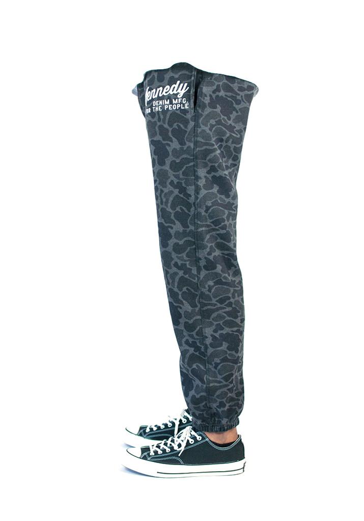Kennedy Jetsetter Sweatpants - Duck Camo Black