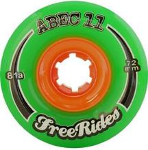 Abec 11 Freeride Longboard Wheels - 77mm