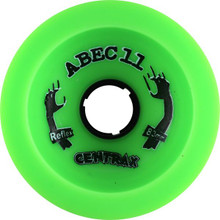Abec 11 Classic Centrax Green Wheels - 77m 78a