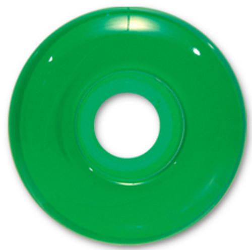 Steadfast Blank Gel Green Wheels - 52mm