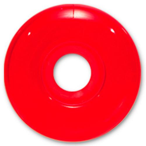 Steadfast Blank Gel Red Wheels - 52mm