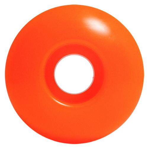 Steadfast Blank Neon Orange Wheels - 52mm