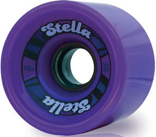 Stella 69 Purple Longboard Wheels - 69mm 78a